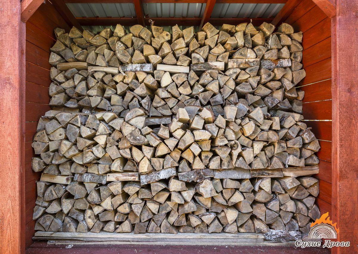 Как правильно складывать дрова