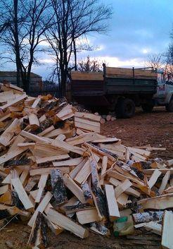 березовые рубленные дрова
