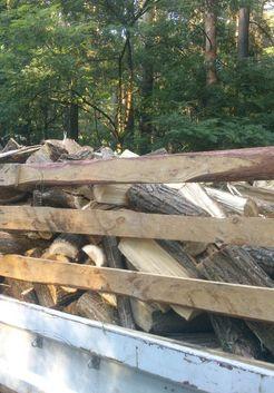 доставка дров заказчику
