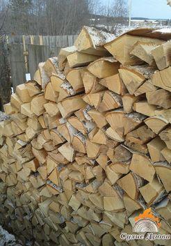 дрова в деревне
