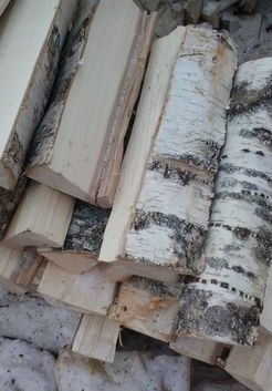 дрова для печи