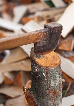 колка ольховых дров