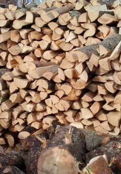 колотые осиновые дрова