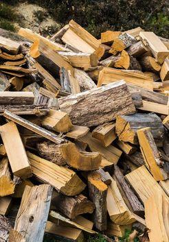 колотые сухие осиновые дрова
